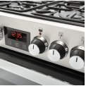 Belling Cookcenter 60 DF EU RVS gas fornuis - 60 cm. breed - dubbele oven