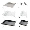 De bijgeleverde accessoires bij  Boretti CFBG902AN/2