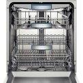 De Bosch SMS69U52EU vaatwasser vrijstaand heeft een capaciteit van 14 standaard couverts