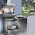 De Candy TRIO9501-1X kan ook perfect in een set opstelling in de keuken geplaatst worden.