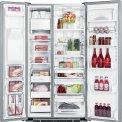 Foto van de binnenzijde van de ioMabe ORE24VGF 3B Amerikaanse koelkast