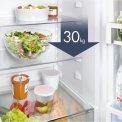 Het draagvermogen van de legplateaus van de Liebherr CN4313 koelkast is 30 kilogram