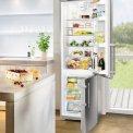 De Liebherr CNPesf4003 koelkast roestvrijstaal is perfect te gebruiken in elke keuken