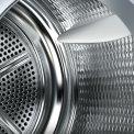 De Siemens WT47W590NL warmtepomp droger beschikt over de verbeterde trommel voor behoedzamer drogen van uw wasgoed