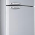 Smeg FAB50X koelkast zilvermetalic - rechtsdraaiend
