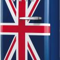 Smeg FAB5LUJ koelkast Union Jack - linksdraaiend
