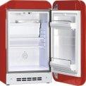 De Smeg FAB5RR is een barmodel koelkast uitgevoerd met adsorptie techniek