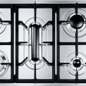 Smeg GKC95-3NLK inbouw gas kookplaat