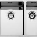 Teka Radea 340/400-180-400 dubbele spoelbak