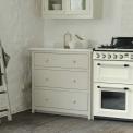 Foto van het SMEG fornuis TR93CNLK geplaatst in een landelijke keuken
