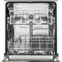 Het interieur van de Zanussi ZDF26001XA vrijstaande vaatwasser rvs