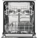 Het interieur van de Zanussi ZDI26001XA inbouw vaatwasser