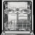 Het interieur van de Zanussi ZDT26001FA inbouw vaatwasser