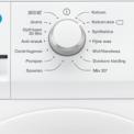 Het bedieningspaneel van de Zanussi ZWF61403W wasmachine