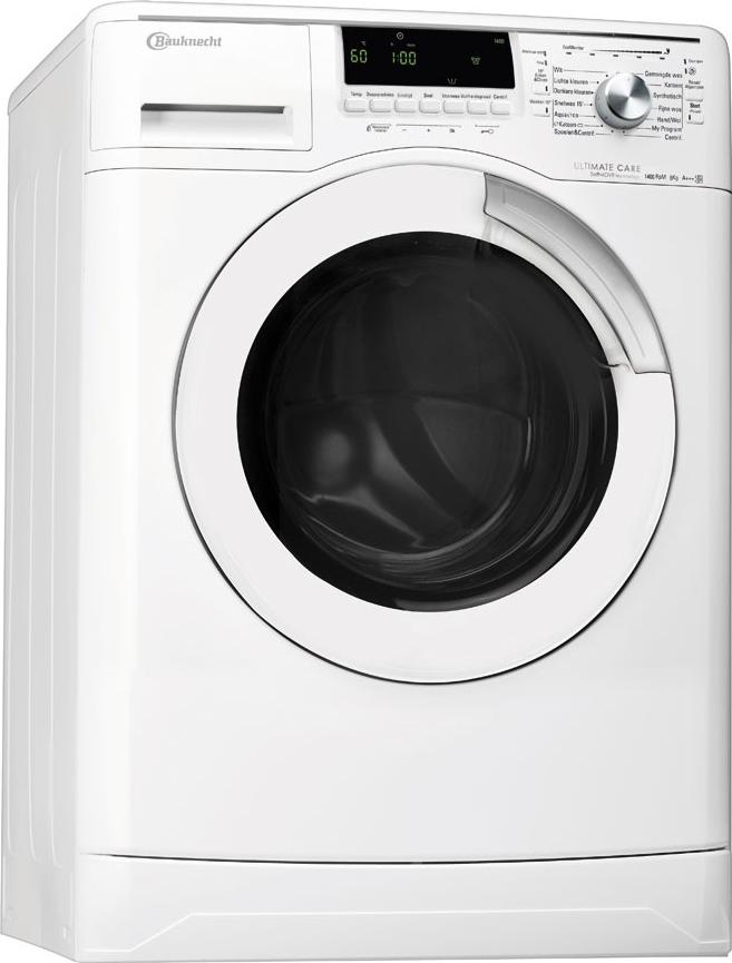 bauknecht excellence 6580 wasmachine 8 kg en 1400 toeren. Black Bedroom Furniture Sets. Home Design Ideas