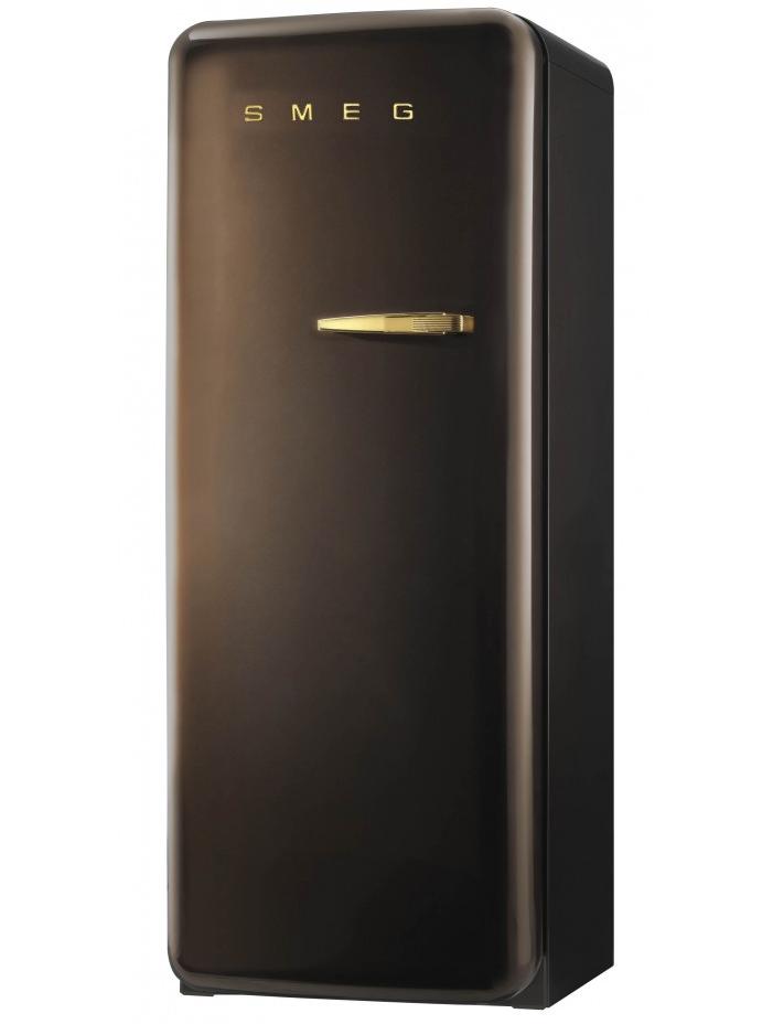 Smeg FAB28LCG1 koelkast chocolade bruin - linksdraaiend