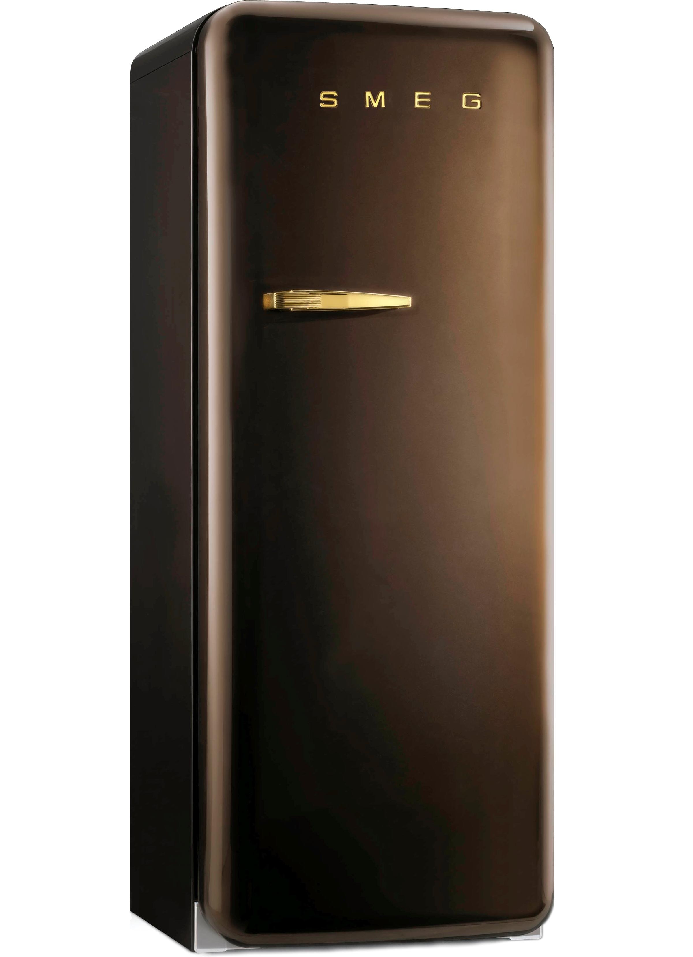 Smeg FAB28RCG1 koelkast chocolade bruin - rechtsdraaiend