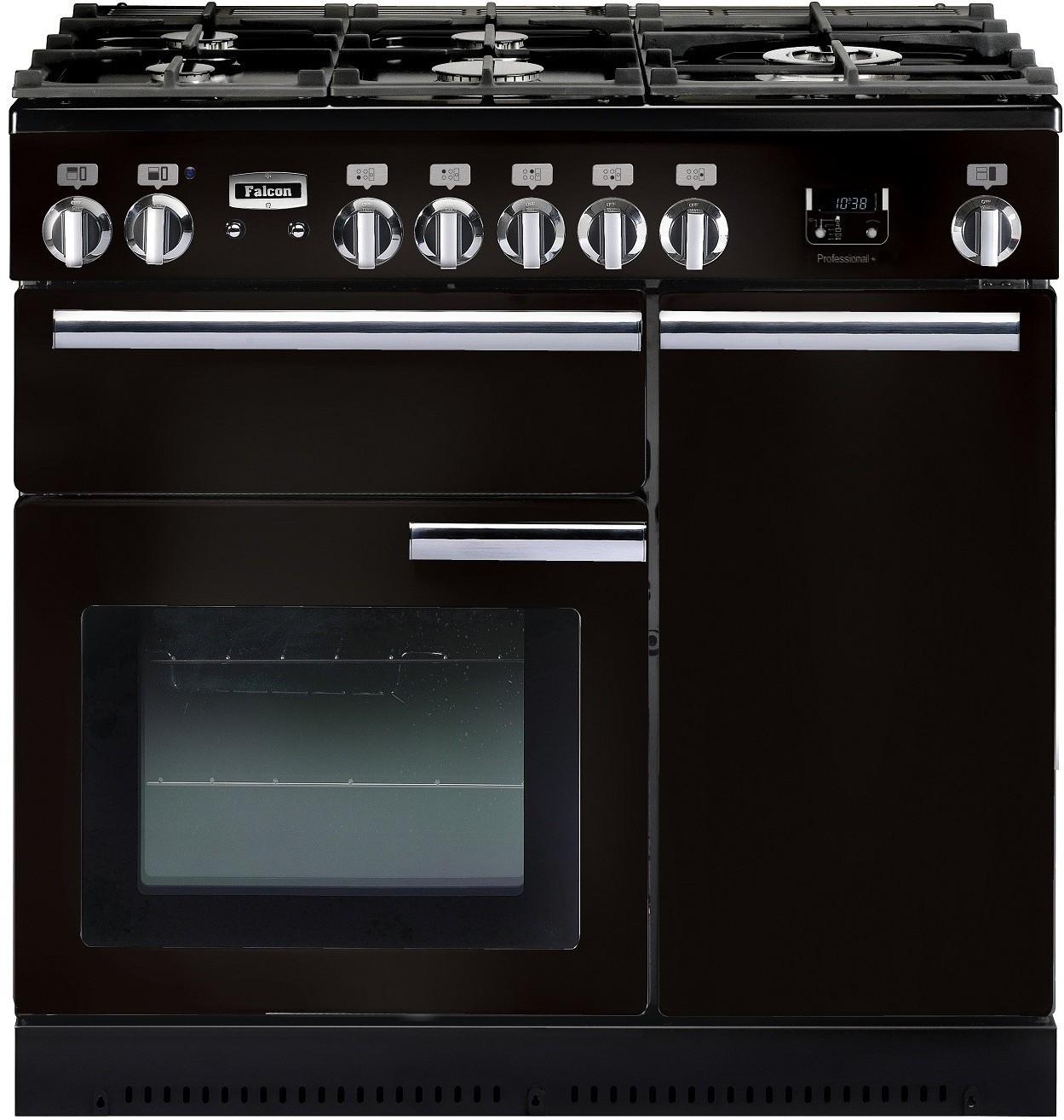 falcon professional plus 90 gas elektro fornuis. Black Bedroom Furniture Sets. Home Design Ideas