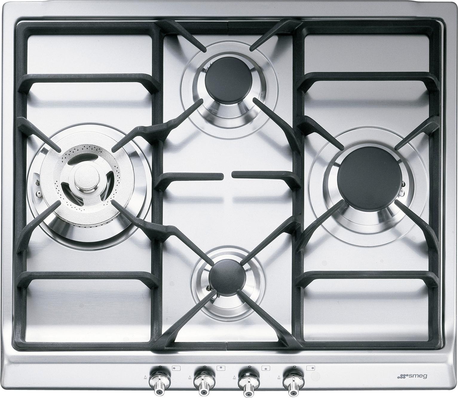 Smeg GKC641-3 inbouw kookplaat
