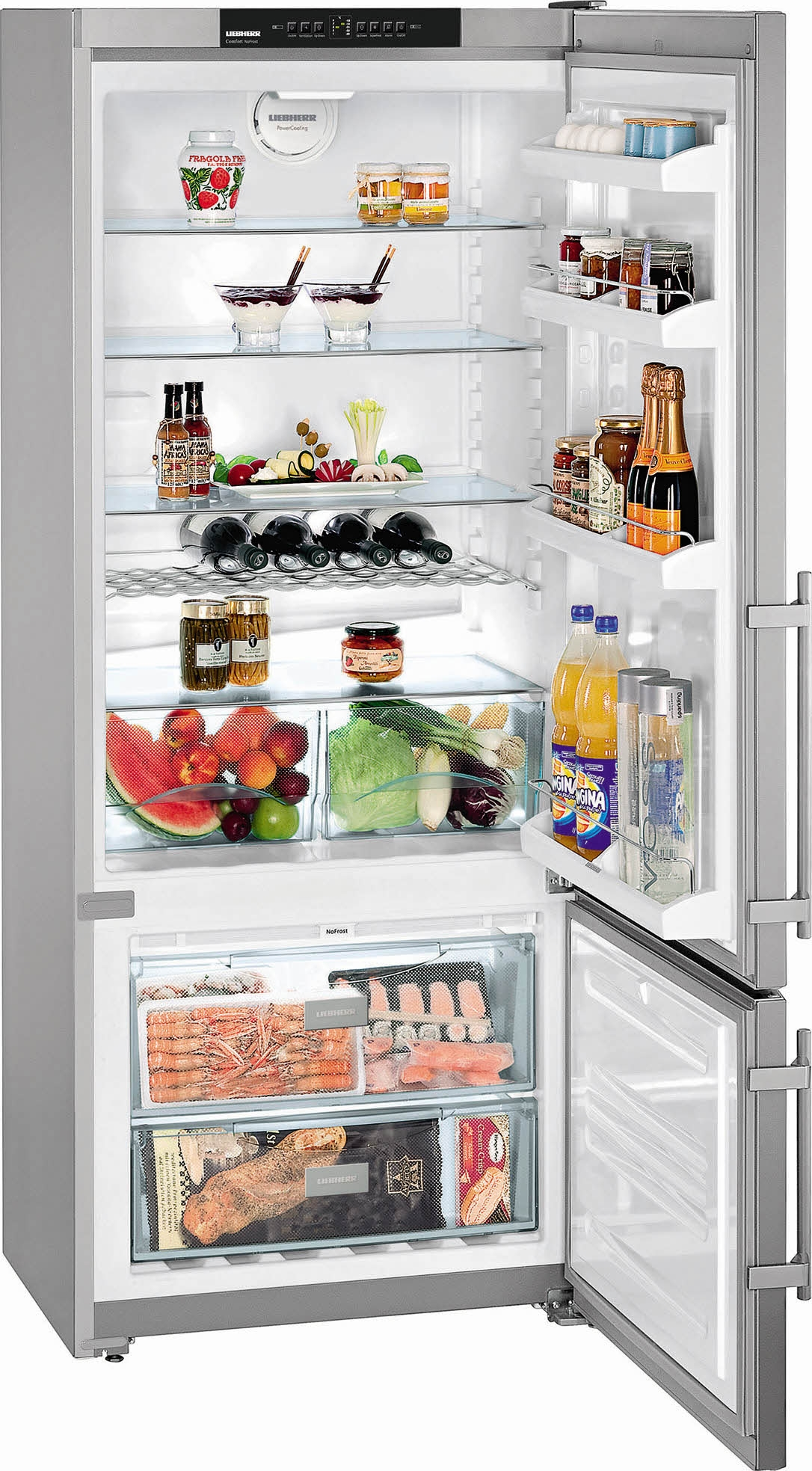 Liebherr CNPesf4613 koelkast rvs   De Schouw Witgoed