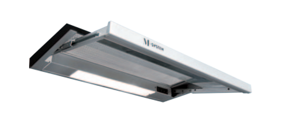 M-System MVK90 vlakscherm afzuigkap