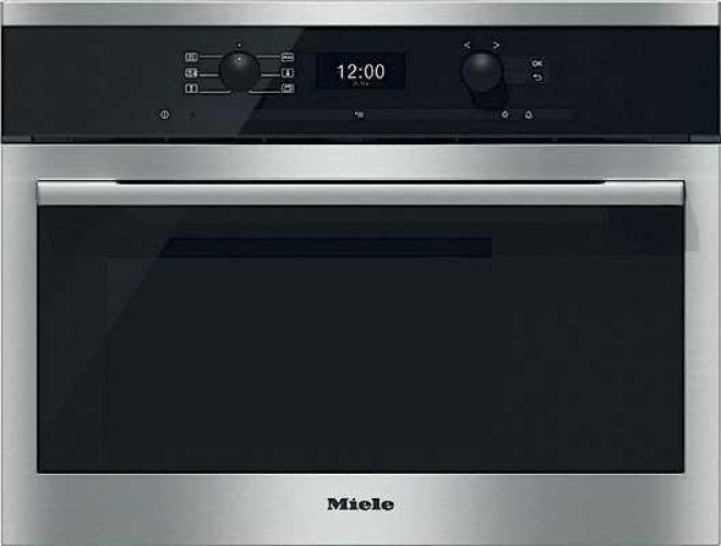 miele dg 6300 miele stoomoven rvs de schouw witgoed. Black Bedroom Furniture Sets. Home Design Ideas