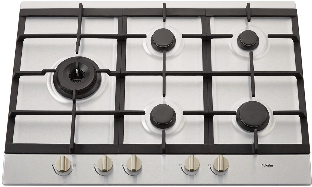 Verwonderend Pelgrim GK975RVSA inbouw gas kookplaat SI-89