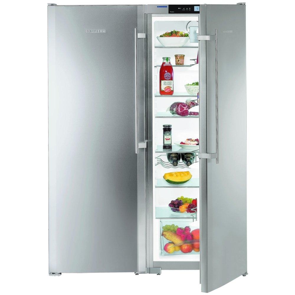 Liebherr SBSes6352 side by side koelkast rvs