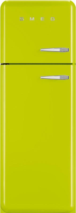 Smeg FAB30LVE1 koelkast lime groen - linksdraaiend