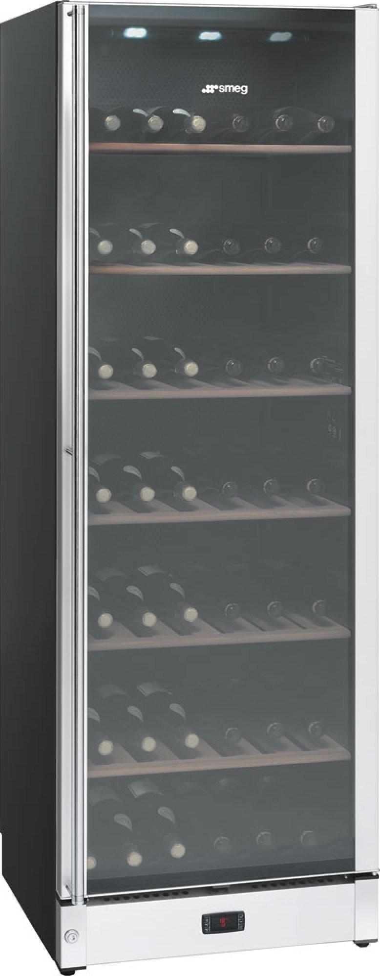 Smeg SCV115AS wijn koelkast roestvrijstaal