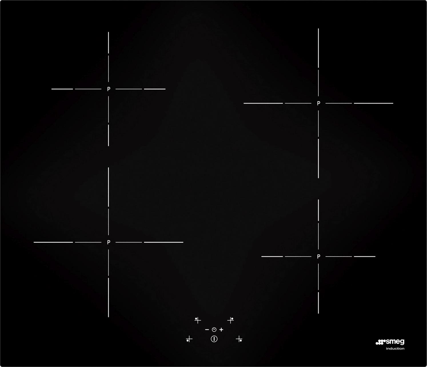 Smeg SI5643D inductie kookplaat - vlak inbouw
