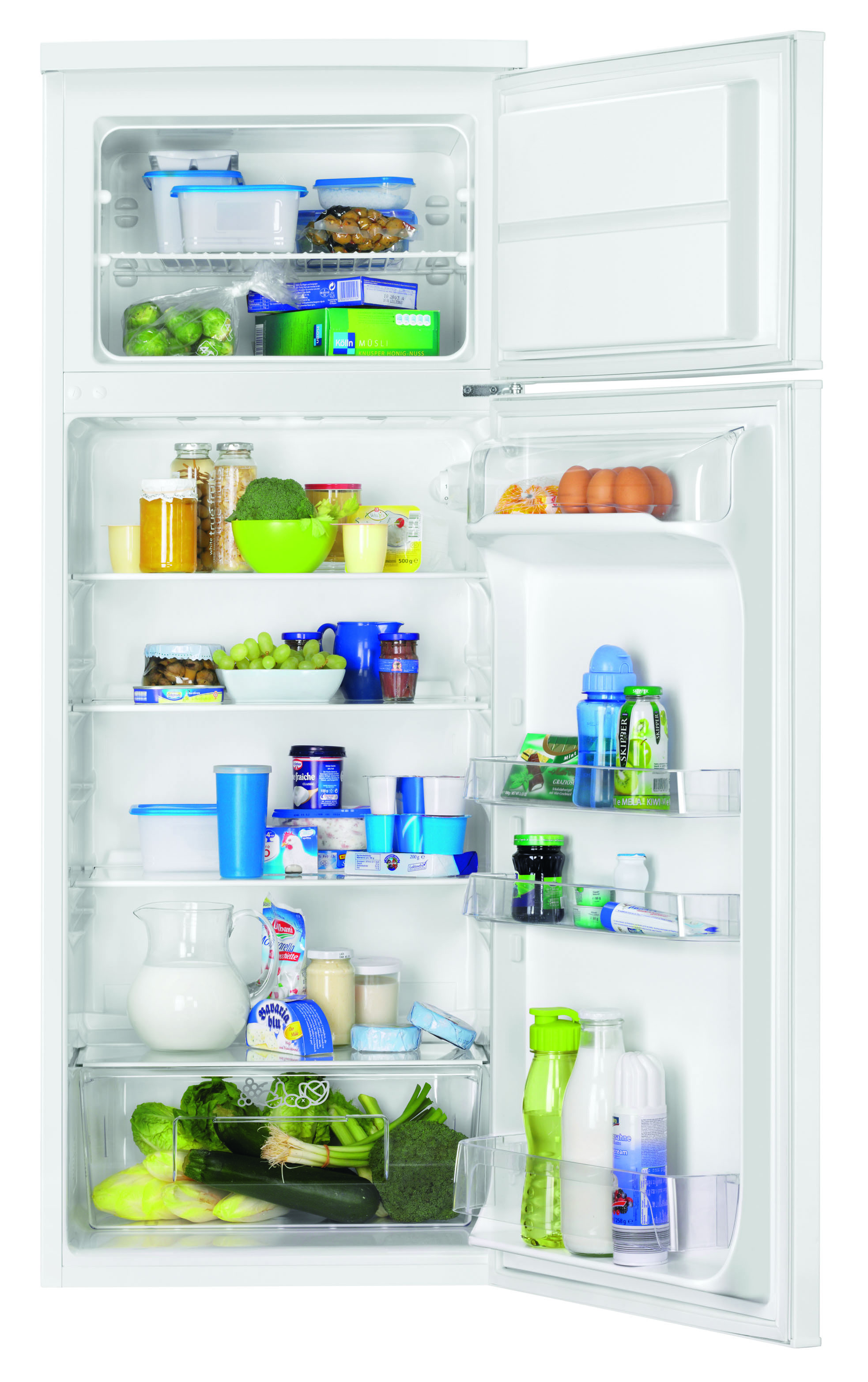Zanussi ZRT27100WA koelkast