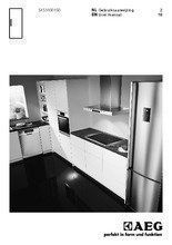 Gebruiksaanwijzing AEG koelkast inbouw SKS51001S0