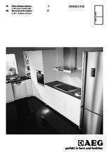 Gebruiksaanwijzing AEG koelkast rvs S53220CSX2