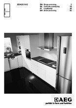 Gebruiksaanwijzing AEG koelkast rvs S53420CNX2