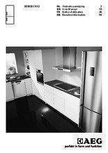 Gebruiksaanwijzing AEG koelkast rvs S53830CNX2