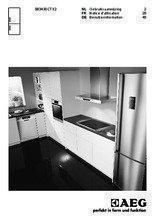 Gebruiksaanwijzing AEG koelkast rvs S83430CTX2