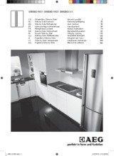 Gebruiksaanwijzing AEG koelkast side-by-side S56090XNS1