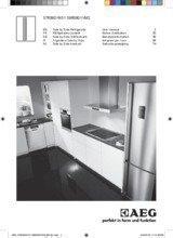 Gebruiksaanwijzing AEG koelkast side-by-side S76090XNS1