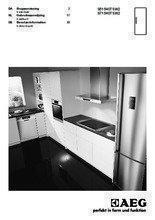 Gebruiksaanwijzing AEG koelkast tafelmodel S51540TSW2