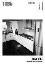Gebruiksaanwijzing AEG koelkast wit S32400CSWO
