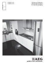 Gebruiksaanwijzing AEG koelkast wit S52400CSWO