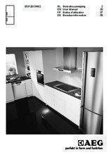 Gebruiksaanwijzing AEG koelkast wit S53120CNW2