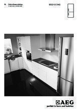 Gebruiksaanwijzing AEG koelkast wit S53210CSW2