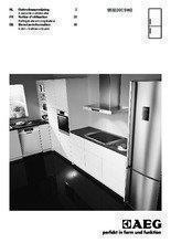 Gebruiksaanwijzing AEG koelkast wit S53220CSW2