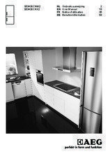 Gebruiksaanwijzing AEG koelkast wit S53430CNW2
