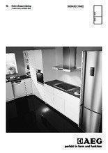 Gebruiksaanwijzing AEG koelkast wit S63430CNW2