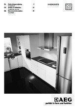 Gebruiksaanwijzing AEG kookplaat inductie HK6542H0FB