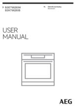 Gebruiksaanwijzing AEG oven inbouw rvs BSE798280M