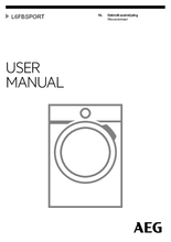 Gebruiksaanwijzing AEG wasmachine L6FBSPORT